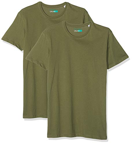 ESPRIT Herren Doppelpack Basic T Shirt (2er Pack)