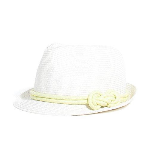 d5eb77e2a23cc Parfois - Sombreros Enformado Papel Blanco - Mujeres - Tallas Única -  Blanco Multicolor