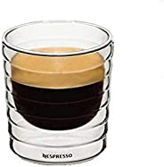 Nespresso double layer wall thermal Glass coffee and Tea and Karak Cup mugs 150ml