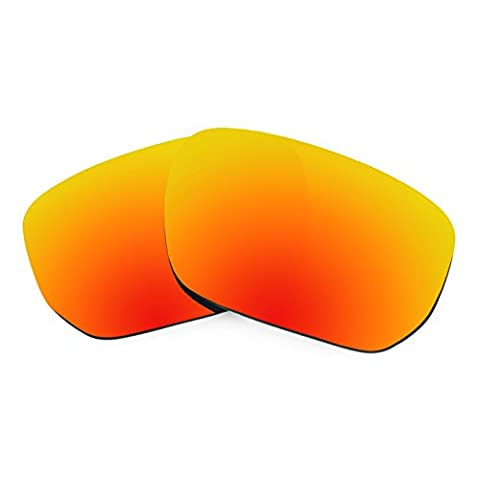 Verres de rechange Revant polarisés Rouge Reu pour Oakley Style Switch