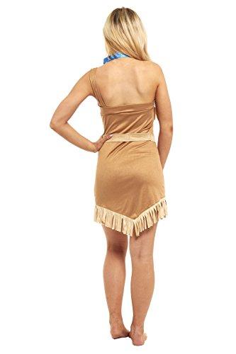 Imagen de princesa disfraz damas pocahontas indian alternativa