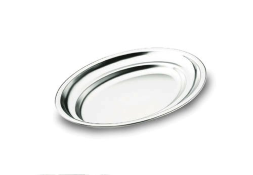 Lacor 61871 Plat Ovale Inox 18% Cr. 70X45 cm