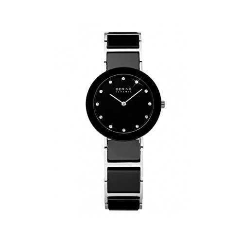 Bering Time Damen-Armbanduhr XS Ceramic Analog Quarz verschiedene Materialien 11422-742