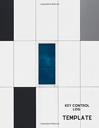 Key Control Log Template: Key Checkout System, Key Log Sign In and Out Sheet, Lock Inventory Register, Key Register Logbook Format, Record Key ... Use, 110 Pages. (Key Control Logs, Band 22) 22 Gauge Sheet