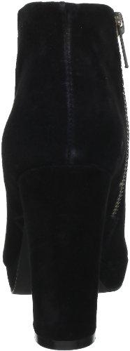 Buffalo 410-10645, Chaussures montantes femme Noir (Kid Suede Black 01)