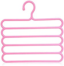 SHAFIRE Multipurpose Hanger for Clothes (Random Colour)
