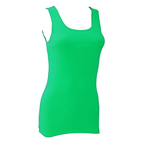 Bella Ladies/Womens Tank Top (M) (Kelly Green)