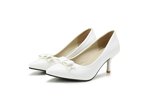 BalaMasaApl10229 - Sandali con Zeppa donna White
