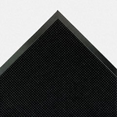 Mat-A-Dor Entrance/Antifatigue Mat, Rubber, 36 x 72, Black, Sold as 1 Each