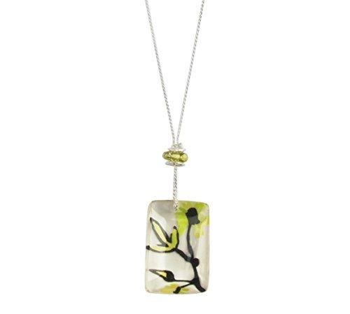 Lalo Treasures Damen-Kette mit Anhänger The Birds & The Beads Resin 65 cm - 95122.0