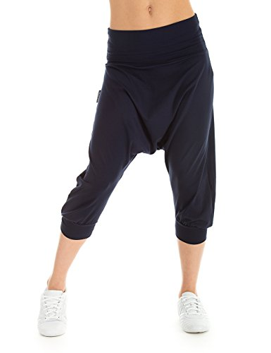 Winshape Damen Trainingshose Dance Fitness Freizeit Sport Haremshose, Night Blue, M Preisvergleich