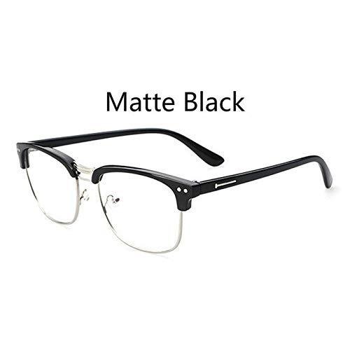 YMTP Metallrahmen Brillengestell Retro Frau Männer Lesen Glas Uv Schutz Klare Linse Computer Brillen Brillen