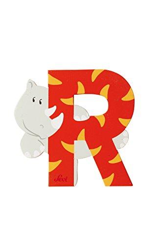 Trudi 81618 - Buchstabe Rhinozeros R