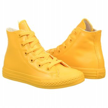 CONVERSE 344744C ALL STAR HI RUBBER RED SNEAKERS Enfant Giallo