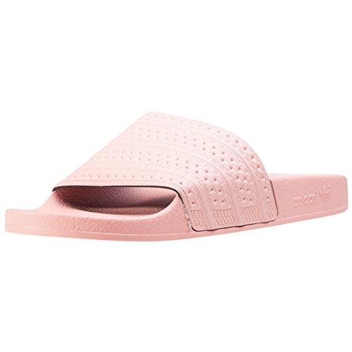 adidas Herren Adilette Badeschuhe, Pink (Haze Coral/Haze Coral/Haze Coral), 39 EU
