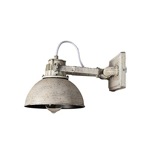 Vintage Lámpara de Pared Personalidad Metal Restaurante Aplique de Pared Retro E27...