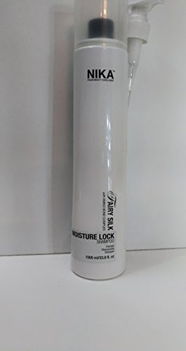 Nika Moisture Lock Shampoo 1000 ml. Anti-Frizz ohne Sodium