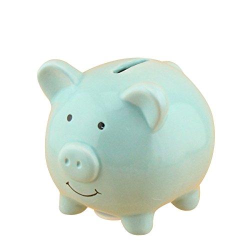 VORCOOL Hucha Cerámica Cerdo Caja Ahorro Moneda Dinero