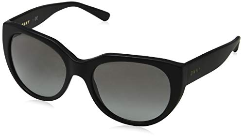 DKNY 0Dy4149, Gafas de Sol para Mujer, Matte Black 55