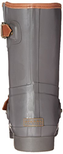 Sperry Top-Sider Women's Walker Fog CHR Rain Boot, Charcoal, 10 M US Anthracite