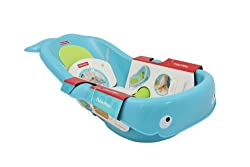 Fisher-Price N3429 Fisher-Price Precious Planet Whale of a Tub, Blue