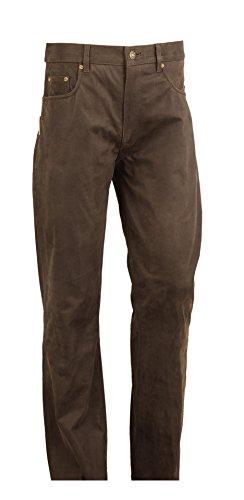 Lederprofi - Pantalon - Bootcut - Homme Noir Noir Schwarz