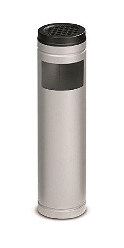 Stilcasa posacenere gettacarte in metallo verniciato. a doppia funzione, È un utile complemento d'arredo per locali pubblici, uffici, ambienti esterni.modello tondo, Ø 14 cm, altezza 54 cm.
