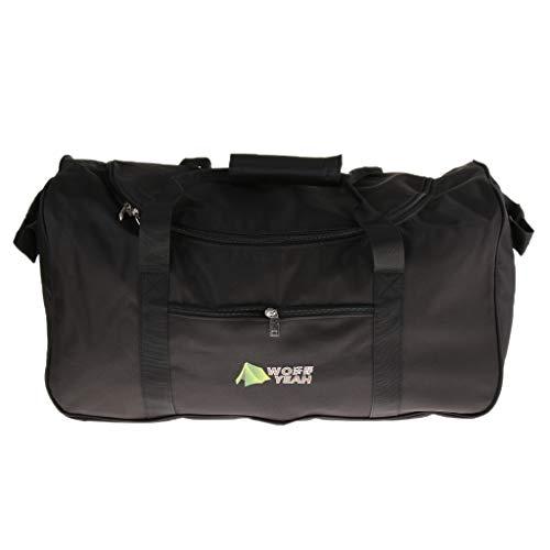 IPOTCH wasserdichte Aufbewahrungstasche Zelttasche Reisetasche Für Schlafsack Campingzelt - 90L