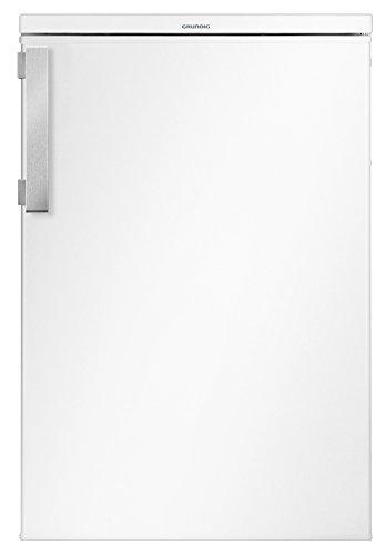 Grundig GTM 10120 Mini-Kühlschrank/A++ / 84 cm / 92 kWh/Jahr / 130 L Kühlteil/Antibakterielle Türdichtung/Unterbaufähig / Flexibler Innenraum / 3 Glasablagen und 3 Türablagen