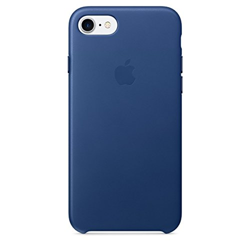 Apple Leather Case for iPhone 7 - Sapphire