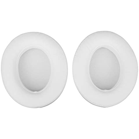 Replacement Earpads Cushions Ear Pads for Beats Studio 2.0 2.0 Wireless by Dr.dre Headphones Color White