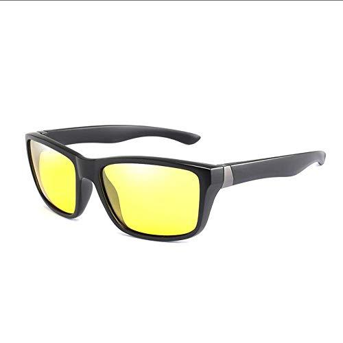 SHIYID Nachtsichtbrille Sonnenbrille Hd Vision Sonnenbrille Brillenschutz Autofahrbrille Bei Nacht
