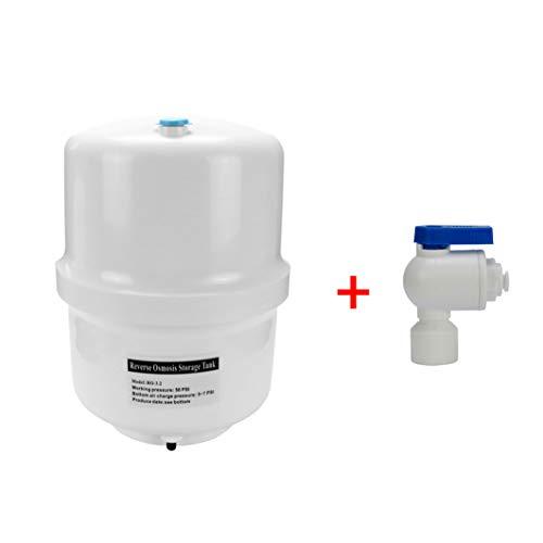 Trinkwasserladen Wassertank Osmose aus Kunststoff 3,2 Gallonen ca. 12 Ltr. brutto - Vorratsbehälter + Tankhahn
