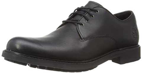 Timberland Earthkeepers Strormbuck Plain Toe Oxford, Chaussures de ville homme, Noir (Black Smooth), 44 EU(Taille Fabricant:10 W US)
