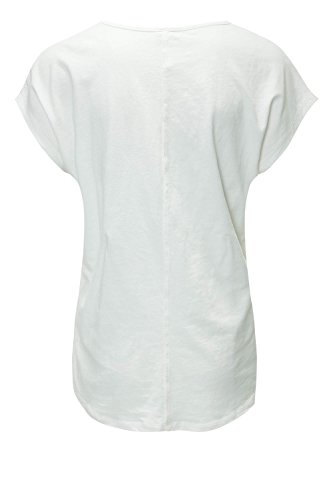 Key Largo Damen T-Shirt Shirt Blusenshirt Print Offwhite