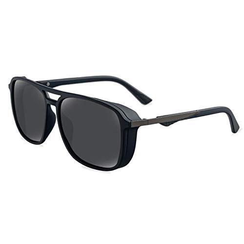 SNXIHES Sonnenbrillen Sonnenbrille Quadrat Vintage Sonnenbrille Berühmte Marke Polarisierte Sonnenbrille Retro Für Frauen Männer 5