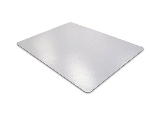 Floortex Bodenschutzmatte | Bürostuhlunterlage | 120 x 75 cm | aus phthalatfreiem Vinyl | transparent | rechteckig | TÜV zertifiziert | für harte Böden