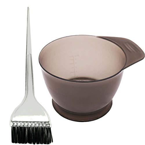 rofessionelle Haarfarbe Schüssel Haar Färben Kit Haaröl Behandlungen Werkzeuge mit Tönung Schüssel und Farbstoffbürsten ()