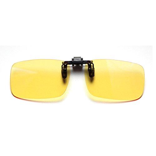 Cyxus Blaues Licht Filter (Clip on) Computer Brillen,UV Blockierung Anti Augenbelastung,Unisex Lesebrille (Standardgröße)