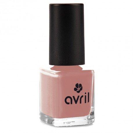 AVRIL - Vernis à Ongles Vegan Sans produits Chimiques - Nude 566 - Application Facile, Non Testé sur les Animaux - 7ml