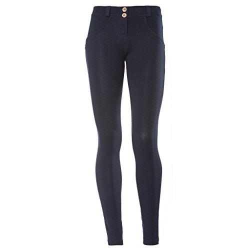 Freddy WRUP1R1E Pantaloni Donna Black BLU