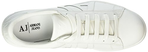 Armani Jeans 935565cc500, Sneakers basses homme Weiß (BIANCO 00010)
