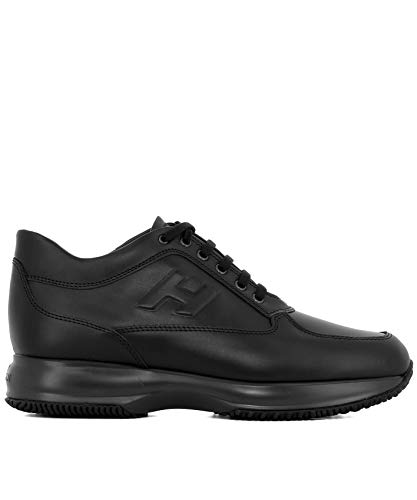 Hogan Luxury Fashion Uomo HXM00N09042KLAB999 Nero Sneakers | Stagione Permanente
