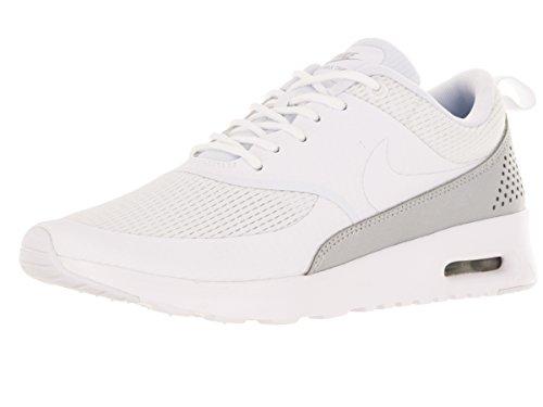 Nike Air Max Thea, Baskets Basses Femme Blanco (White / White)