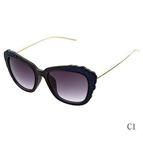 WZYMNTYJ Damen Sonnenbrille Designer Brille Helle Flash Shield Frame Eyewear Feminino