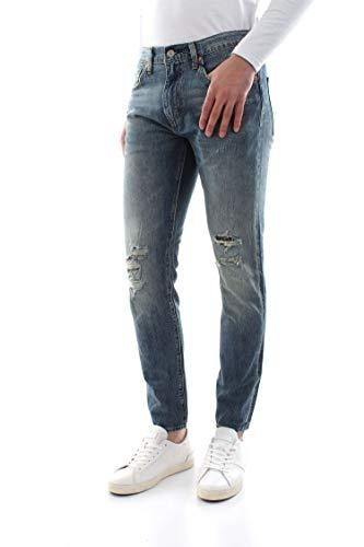 Bein Traditionellen Fit-jeans (Levi's Jeans 512 28833 Denim Size:34)