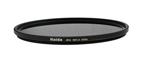 Slim Graufilter ND1000 - 52mm + Pro Lens Cap mit Innengriff