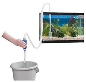 Happie Shop Siphon Pipe for Aquarium 1.5 Metre + Gravel Cleaner Aquarium Water Changer Pump