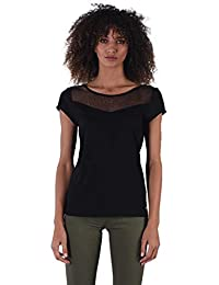 c4e17111576 Kaporal - Tee-Shirt à Dentelle - Tifa - Femme