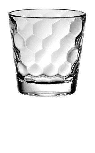 BARSKI europäischen Glas-Double Old Fashioned Tumbler Gläser-Einzigartige-Set von 6-12,5oz-Made in Europe 12 Double Old Fashioned Gläser